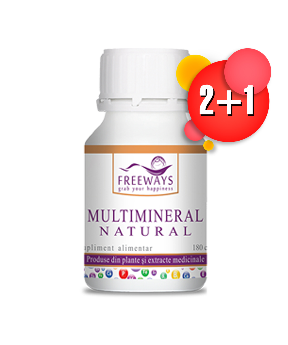 Promotie Multimineral Natural 2+1 gratis